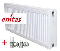 Панельный радиатор EMTAS тип 22РККР 300х600 бок. подкл.