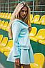 Женская куртка с капюшоном из неопрена (1244 sk), фото 3