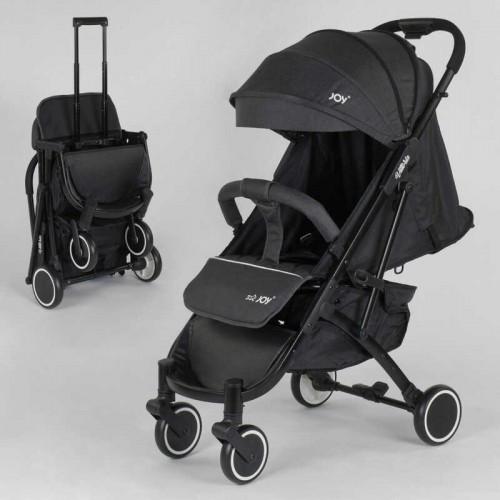 Коляска прогулочная детская JOY Vittoria 52254, цвет темно-серый