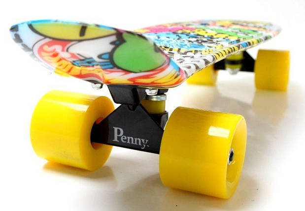 "Скейт ""Penny Board"" ""GRAFFITI"" INSCRIPTION, фото 2"