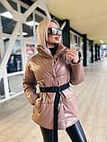 Куртка женская эко кожа весна-осень  42-44 44-46 рр., фото 9