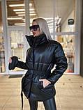Куртка женская эко кожа весна-осень  42-44 44-46 рр., фото 8