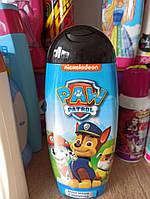 Детский шампунь-гель для душа  Paw Patrol  2 in 1