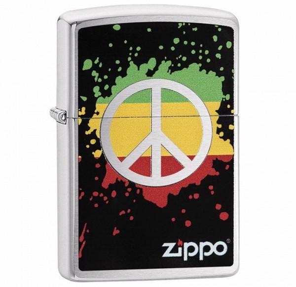 Зажигалка Zippo Peace Splash, 29606