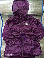 Курточка на дівчинку на флісі рр 104,(СКЛАД)