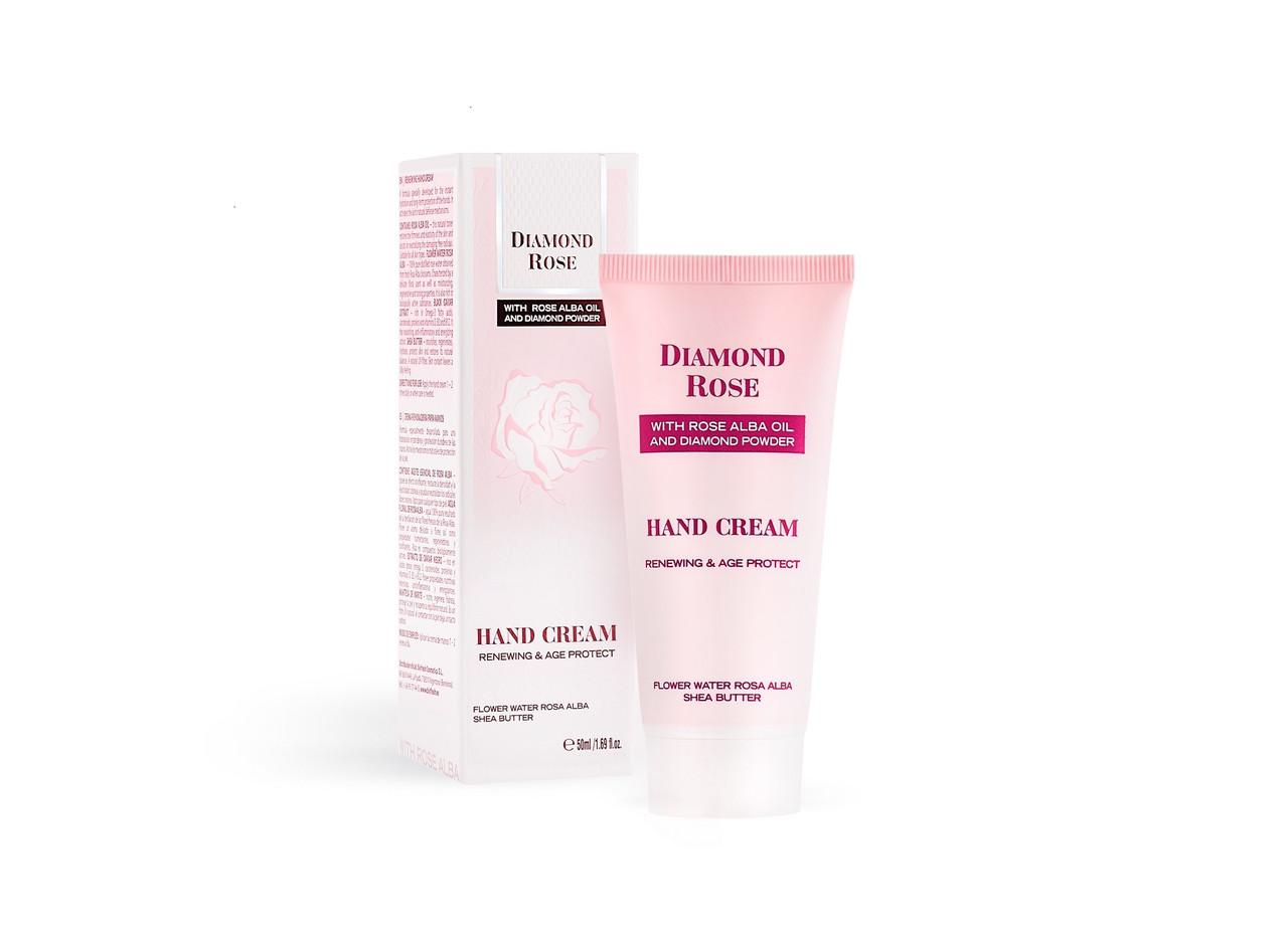 Обновляющий крем для рук/Renewing hand cream Diamond Rose 50 ml