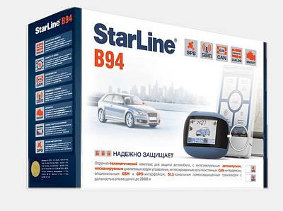 Автомобильная сигнализация с GPS StarLine B94 2CAN GSM/GPS 2SLAVE T 2,0