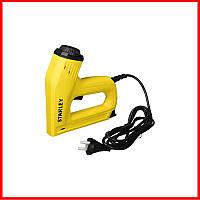 ✅ Степлер електричний STANLEY 6-TRE550 (для скоб G 6-14 мм і шпильок цвяхів J 12, 15 мм)