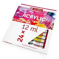 Набір акрилових фарб ArtCreation 24 кольори в тубах по 12 мл Royal Talens, 9021724