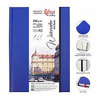 Блокнот для акварели A5 32 листа 200 г/м 25% хлопок Watercolor Fabriano ROSA Gallery, 169153009