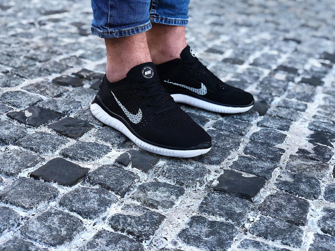 Кроссовки мужские Nike Free Rn Flyknit (Размеры:41,42,44,45)