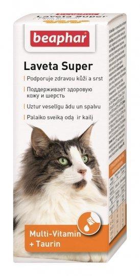 Витамины для котов Laveta Super от линьки 50 мл