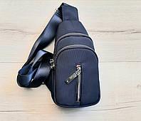Рюкзак-слінг синій 25*13*6, фото 1