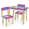 Детский столик и стульчики расцветки для девочки, фото 5