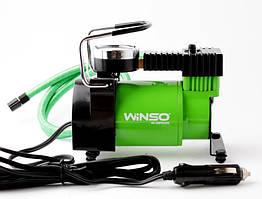 Компрессор 7Атм, 170Вт, 37л/мин, автомобильный для подкачки шин, от прикуривателя, WINSO (Польша)