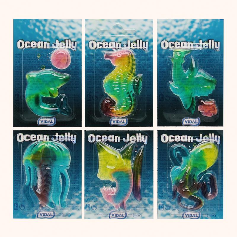 Желейні цукерки Ocean Jelly Vidal 6 морських мешканців