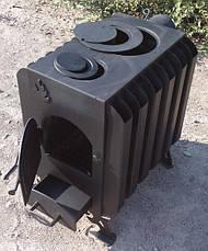 Печь длительного горения с радиаторами, фото 3