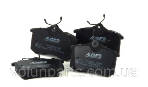 Комплект тормозных колодок Audi/Citroen/Fiat/Lancia/Peugeot/ Renault/ Seat/ Skoda/ Volkswagen  (ABE C2W001ABE)