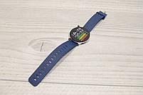 Умные часы  S9 Smartwatch водозащита мониторинг сердечного ритма ( фитнес-браслет спортивный) (Синие), фото 2