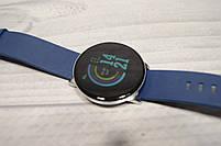 Умные часы  S9 Smartwatch водозащита мониторинг сердечного ритма ( фитнес-браслет спортивный) (Синие), фото 3