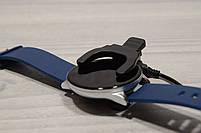 Умные часы  S9 Smartwatch водозащита мониторинг сердечного ритма ( фитнес-браслет спортивный) (Синие), фото 8