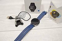 Умные часы  S9 Smartwatch водозащита мониторинг сердечного ритма ( фитнес-браслет спортивный) (Синие), фото 10