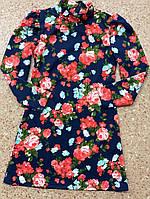 Детское платье Flowers  116-134 см, фото 1