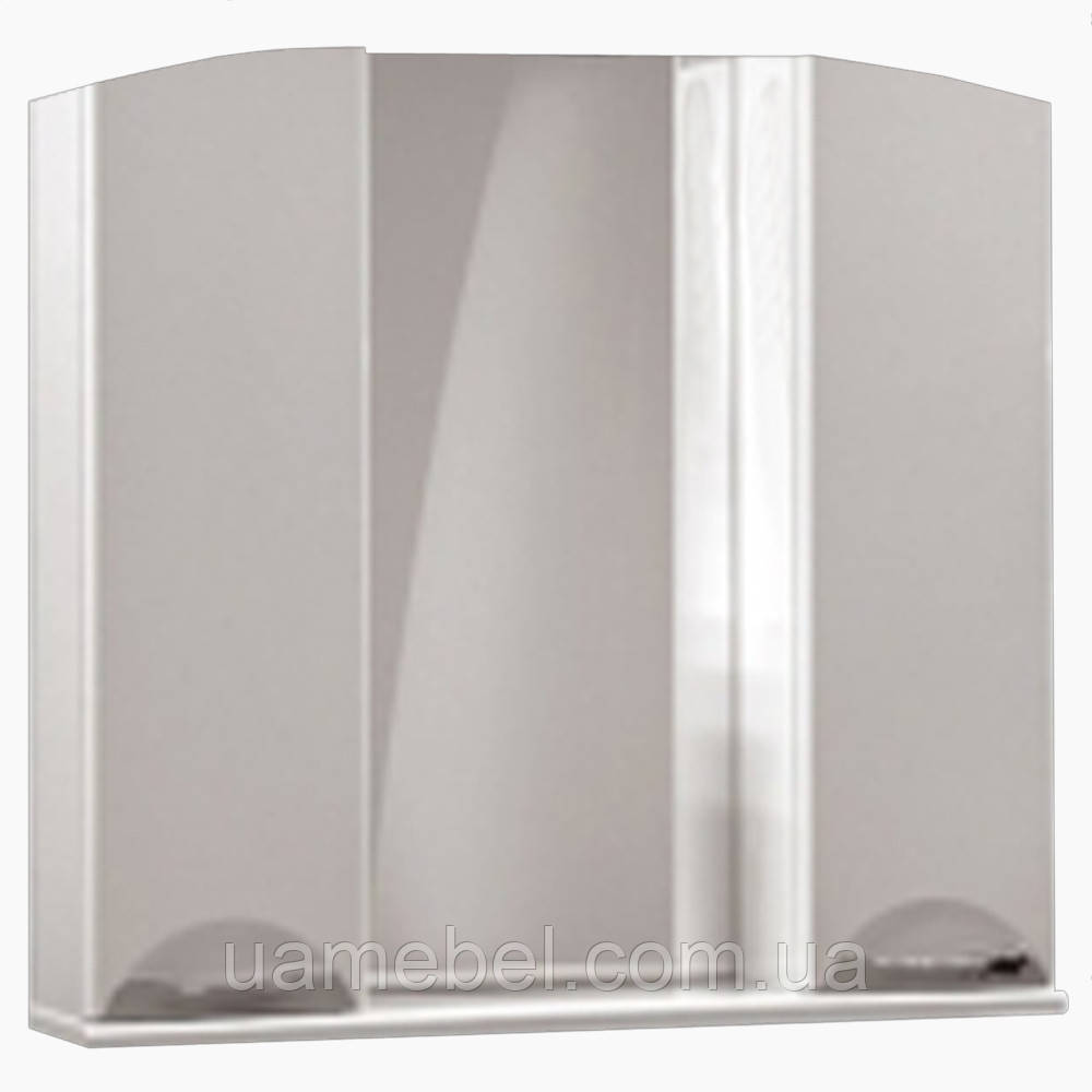 Зеркало в ванную комнату без света З-18 Бриз (75-120 см)