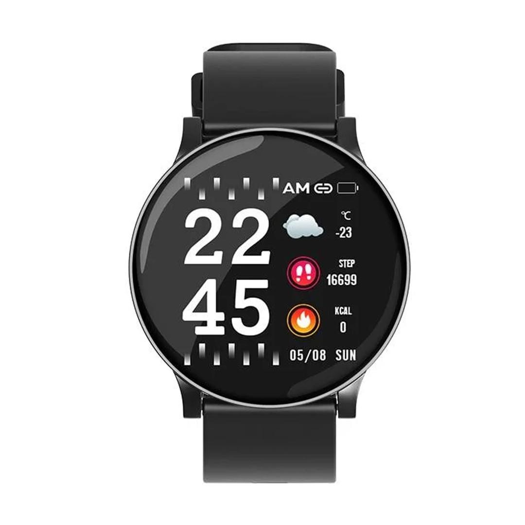 Умные часы  S9 Smartwatch водозащита мониторинг сердечного ритма ( фитнес-браслет спортивный) (Синие)