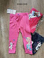 Лосины для девочек оптом, Disney, 3-8 лет, арт. 92063