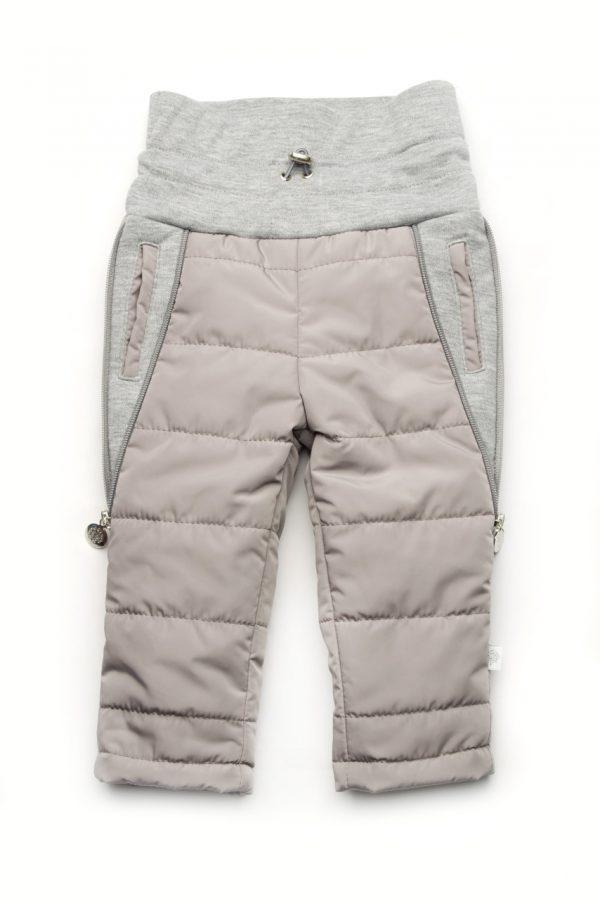 Штаны для малышей с отворачивающимся поясом