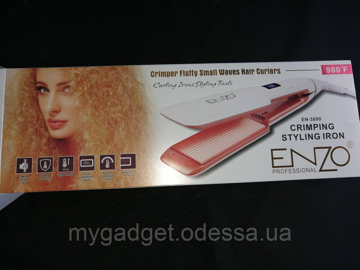 Качественный гофре для волос EN-3890