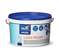 Моющаяся полуматовая краска для стен HELIOS SPEKTRA Latex Polmat, 10л