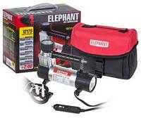 Компрессор ELEPHANT КА-12175 100psi/14Amp/30л/ фонарь/ прикур./ переходник с быстросъемником