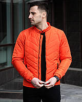 Куртка мужская весенняя осенняя Олтрекс x orange / бомбер демисезонный