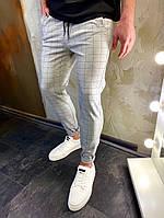 Мужские классические брюки, мужские классические штаны в клетку