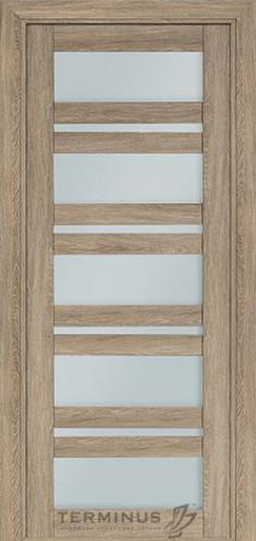 Межкомнатная дверь для частного дома Модель 107 Мускат, остекленная
