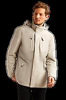 Мужская весенняя куртка FiNN FLARE B19-42008-714 серая