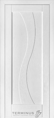 Модель 15 Ясень белый эмаль, глухая