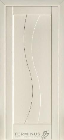 Межкомнатная дверь для частного дома Модель 15 Ясень Crema, глухая