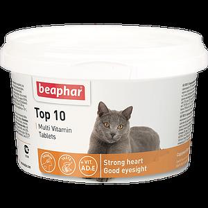 Кормовая добавка Top 10 для кошек 180 табл.
