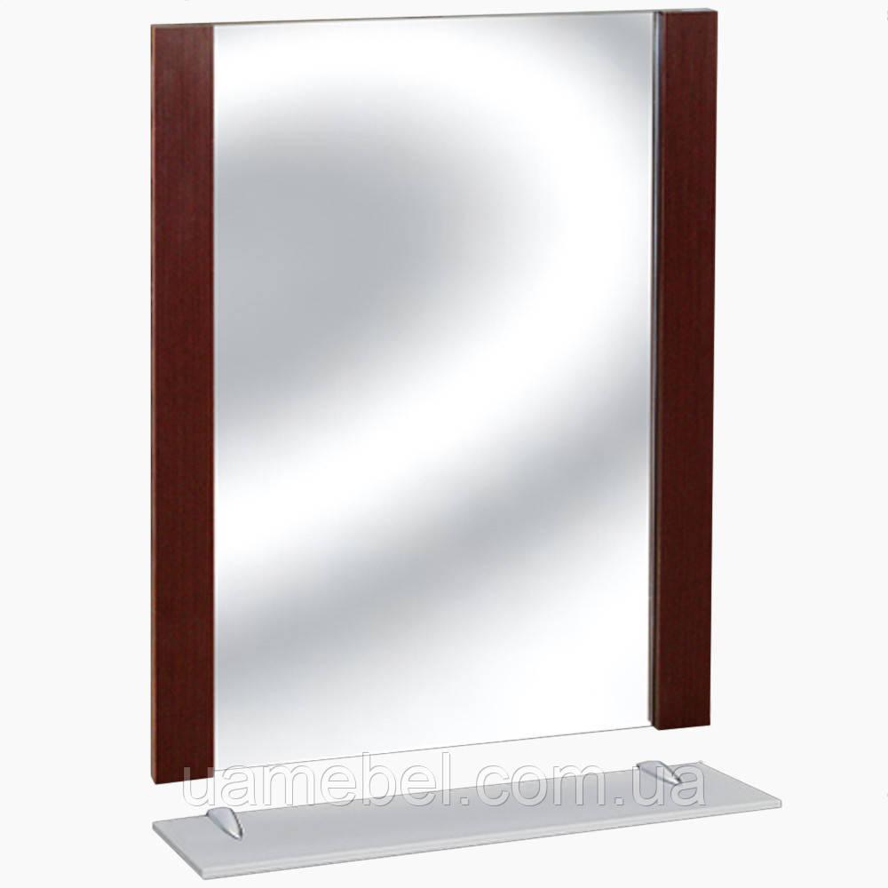 Зеркало для ванной З-19 Виктория Венге (45-90 см)