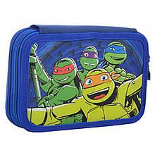 531758 Пенал твердый 1 Вересня двойной Turtles