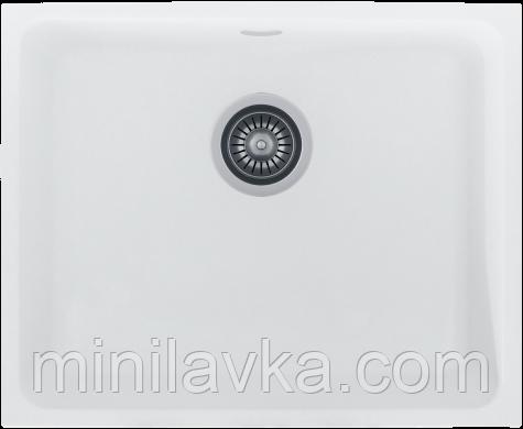 Кухонная мойка KERNAU KGS U 60 1B PURE WHITE