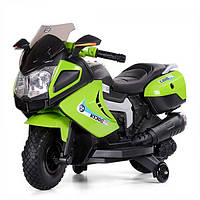 Электромотоцикл детский Bambi M 3625 EL-5 зеленый
