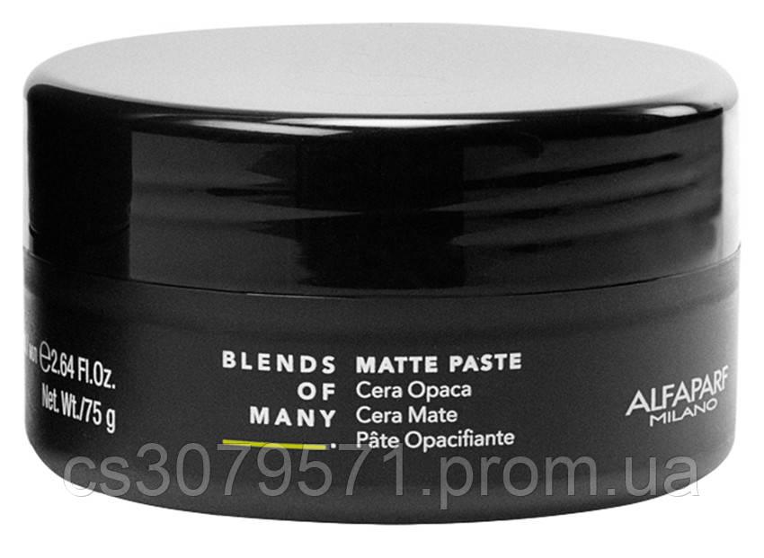 Матовая паста для волос Alfaparf 75 мл