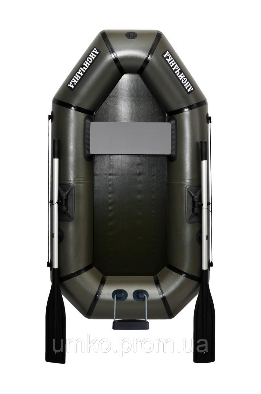 Надувний човен одномісний Л190ТУ з ПВХ Лисичанка. Безкоштовна доставка!!!