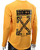 Свитшот желтый OFF-WHITE №5 Р-2 YEL L(Р) 19-529-201-001, фото 8