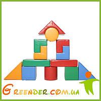 Детский мягкий конструктор большой KIDIGO Строитель 6