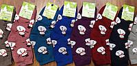 """Шкарпетки жіночі, махрові """"Топ-Тап Сніговики"""" асорті, фото 1"""